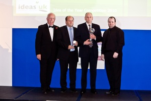 ideasUK Suggestion Scheme - Idea of the Year Winners 2010 - Diageo